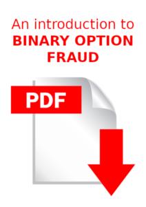 An introduction to binary option fraud